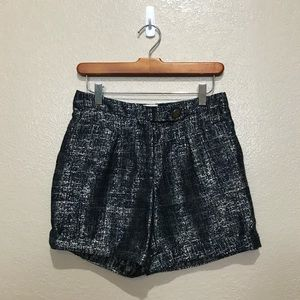 Anthropologie Coquille Shimmering Streets Short